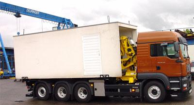 Garagentransporter Typ 142/7 XXL
