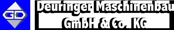 Maschinenbau Deuringer Garagentransporter Logo